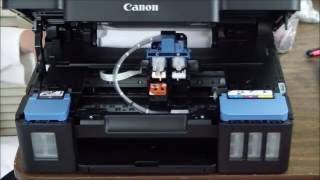 how to solve no print output on canon G2000,G3000,G1000 series