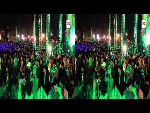 Heineken Countdown Party 2013 Hanoi in 3D