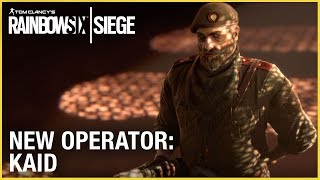 Rainbow Six Siege - New Operator: Kaid