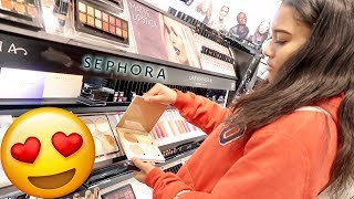SURPRISED GIRLFRIEND WITH MAKEUP SHOPPING SPREE!!!