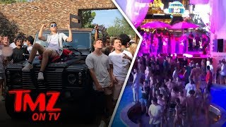 Dana White's Son Insane Celeb Filled Birthday Rager | TMZ TV