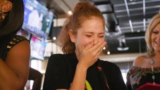 FOX5 Surprise Squad - Waitress with Dying Husband Gets $12,000 Tip!
