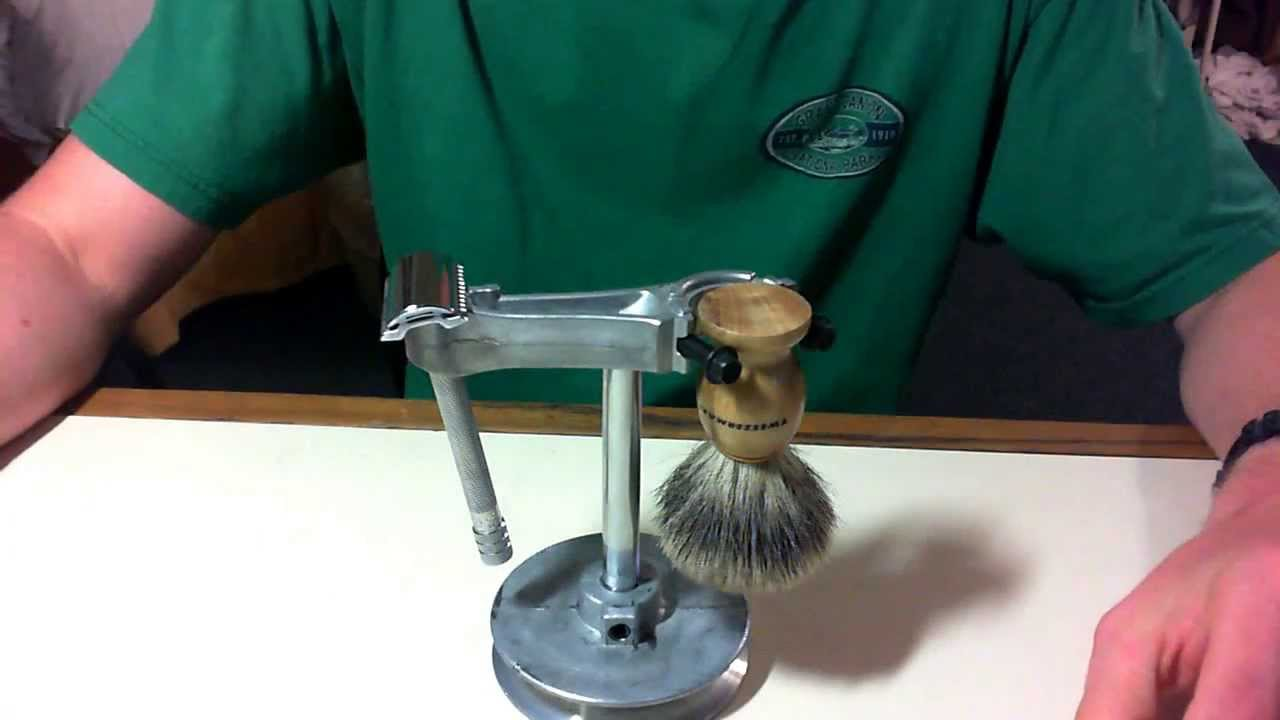 Razor Side By Side >> DIY Cool Shaving Stand - Engine Themed - YouTube