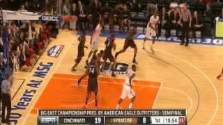 Cincinnati vs. Syracuse First Half
