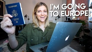 Book A Trip Abroad With Me! Going To Europe!
