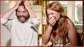 Why Zach Galifianakis thinks Isla Fisher NEVER got laid...and her naked Instagram selfie