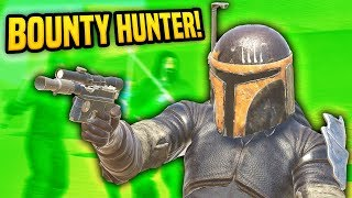 BECOMING A BOUNTY HUNTER IN VIRTUAL REALITY - Blades and Sorcery VR Mods (Star Wars)