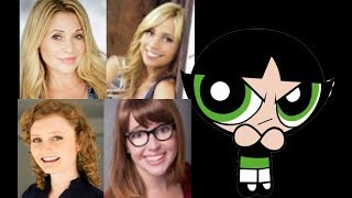 Animated Voice Comparison- Buttercup (Powerpuff Girls)
