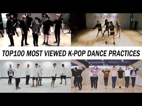 [TOP 100] MOST VIEWED K-POP DANCE PRACTICES • FEBRUARY 2018