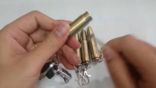 [deva.vn]Móc khóa diêm xăng hình viên đạn
