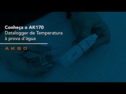 Conheça o AK170 - Datalogger de Temperatura
