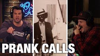 PRANK CALLS: Black People React to Northam's KKK/Blackface! | Louder With Crowder