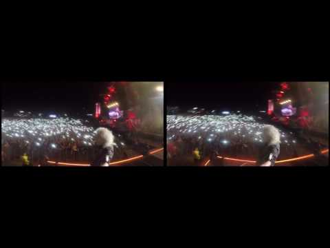 Selfie Stick Video |3D| Rock in Rio Lisboa, Portugal [May 20, 2016] - Brian May