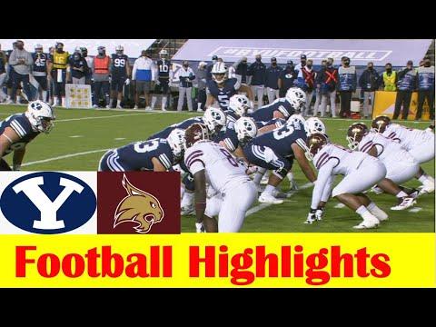Texas State vs BYU Football Game Highlights 10 24 2020