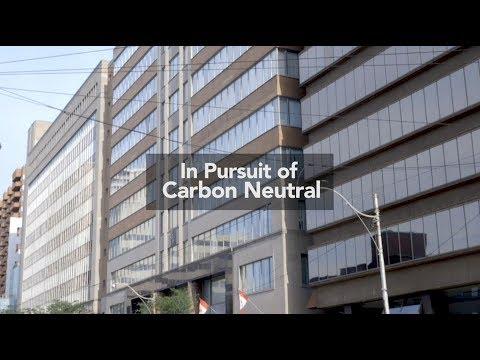 In Pursuit of Carbon Neutral: The Arthur Meighen Building