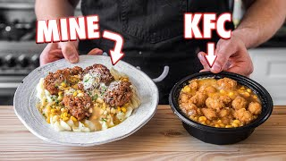 Making The KFC Famous Bowl At Home | But Better