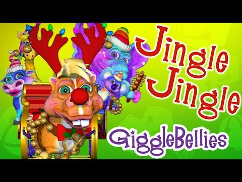 Jingle Bells with The GiggleBellies - The GiggleBellies - Nursery Rhymes & Kids Songs  - B9ld4HCAVpE -