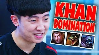 Everything KHAN did at LCK Summer 2017 | DOMINATING TOPLANERS | #LeagueOfLegends