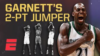 Kevin Garnett's silky jumper helped pave the way for the NBA's modern stretch bigs | Signature Shots