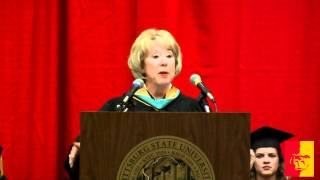 'SP 2012 Graduation Ceremony - Regent Christine Downey-Schmidt's Address