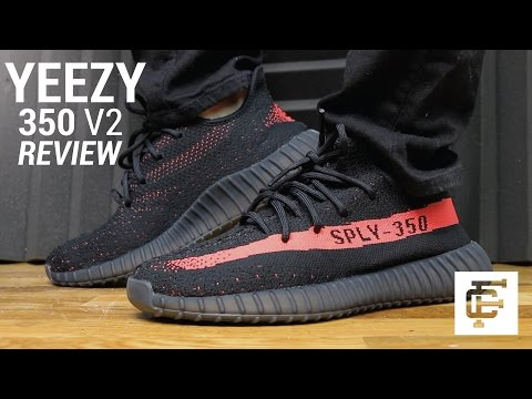 brand new bd4c1 90774 ... Adidas Original Yeezy Boost 350 V2 (Core Black Red) – MEN   BY9612 image