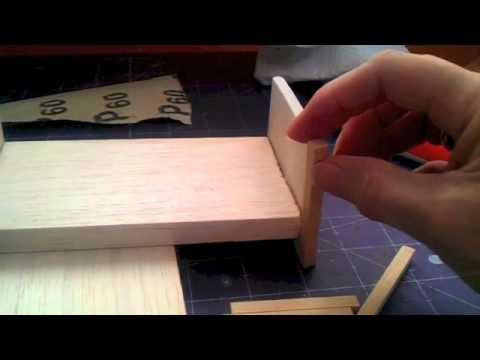 How To Make Bed For Your 1 12 Scale Dolls House Youtube