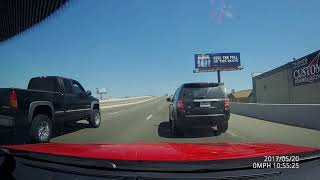 land rover cuts me off making right