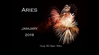 Aries - January 2019 - It's all about LOVE Aries!