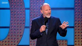 Stand-up comedy: Simon Evans. Not viewable in UK/Ireland. Apr 2015