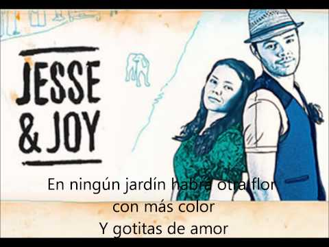 Gotitas De Amor - Jesse & Joy (lyrics)