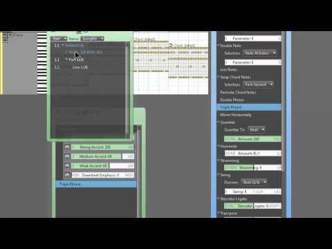 RapidComposer Tutorial Part 10: Variations (Track & Phrase)