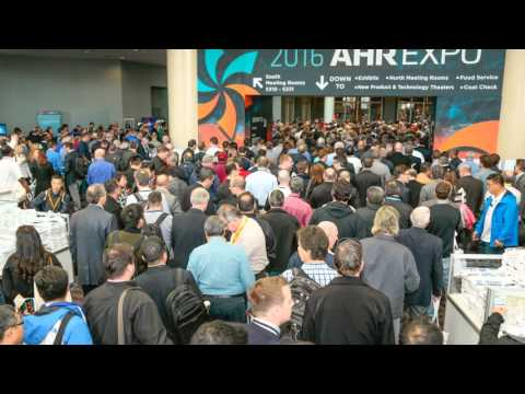 VTS ON AHR EXPO 2016 – WORLD'S LARGEST HVACR SHOW