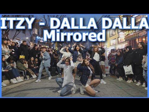 [KPOP IN PUBLIC][Mirrored] ITZY(있지) - DALLA DALLA(달라달라) Cover Dance 커버댄스 거울모드 4K