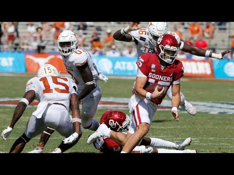 Oklahoma vs Texas Overtime Highlights 2020 College Football