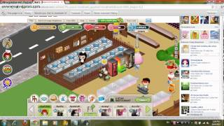 Hack Cafe Land Exp and Coins