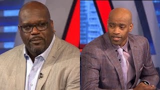 Inside the NBA - Vince Carter and Shaq on Dwyane Wade Final  NBA Home Game | April 9, 2019
