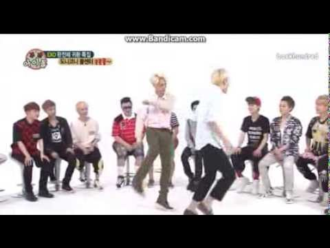 [EXO] Luhan Sehun Kai kicking butt