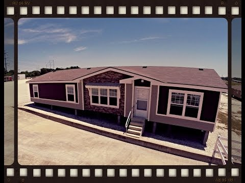 Watch Video of Ft. Worth's Newest Manufactured Home Model Just Arrived!