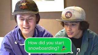 HOW DID YOU START SNOWBOARDING? Q&A With Toby Miller
