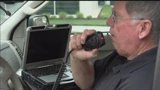 Officer makes last call over the radio after 43 years of service
