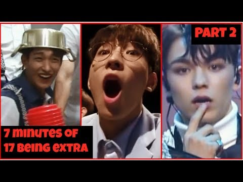 😂Another 7 Minutes Of Seventeen Being Extra (2)😂