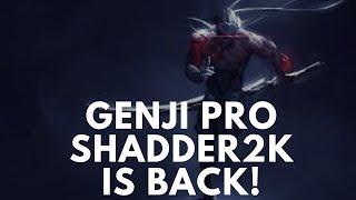 Overwatch Best Genji Pro Shadder2k Is Back -Intense Gameplay-