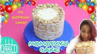 How to make the MOMOFUKU MILK BAR FUNFETTI BIRTHDAY CAKE   MY BIRTHDAY CAKE!