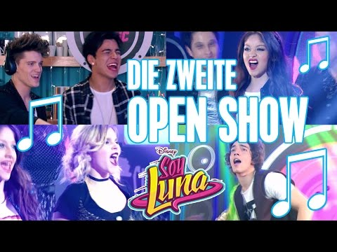 SOY LUNA  🎵 Die zweite Open Music Show 😍 | Disney Channel Songs