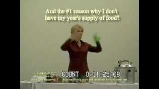 How to store a years supply of food Wendy DeWitt Part 1 of 9