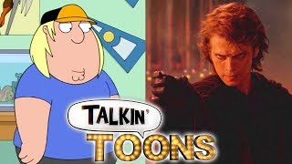 Seth Green Does a Prequel Star Wars Family Guy Mashup! (Talkin' Toons w/ Rob Paulsen)