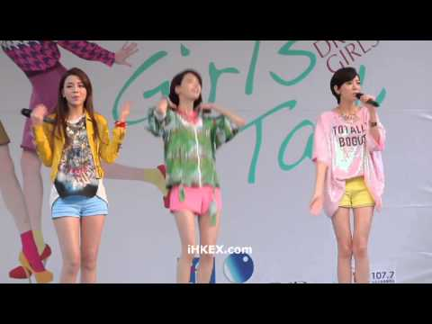 【Dream Girls】唱因為有你在 - Girl's Talk 簽唱會@台北西門町
