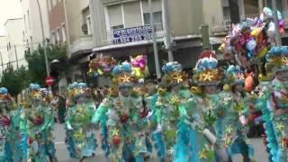 Caribe en el desfile de comparsas de 2010