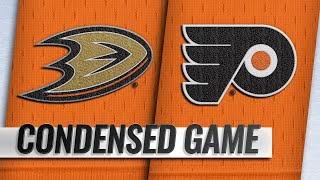 02/09/19 Condensed Game: Ducks @ Flyers