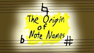 Why Do Notes Have Names?